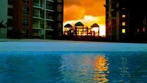 7 piscinas al aire libre
