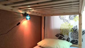 Blackout curtains, free WiFi