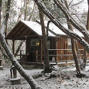 Creekside Cabin--a Quiet, Wooded Country Delight