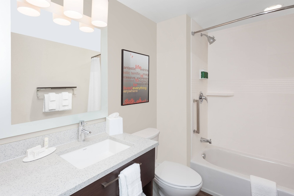Bathroom, TownePlace Suites by Marriott Titusville Kennedy Space Center