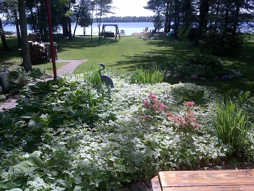 Check Expedia for Availability of Clean, Cozy, Waterfront Cottage on Manistee Lake Spells Fun!