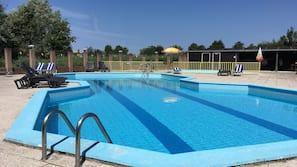 Beheizter Pool