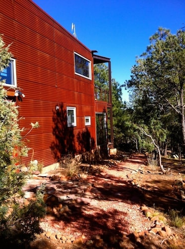 Exterior, Modern Cabin In The Woods - Family And Pets Friendly