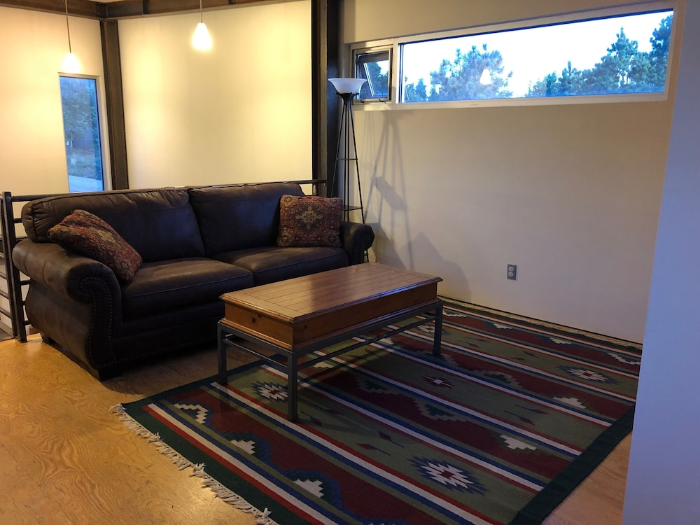 Living Room, Modern Cabin In The Woods - Family And Pets Friendly