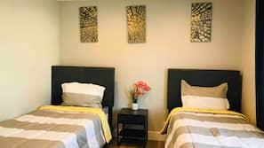4 makuuhuonetta, silitysrauta/-lauta, Wi-Fi, vuodevaatteet