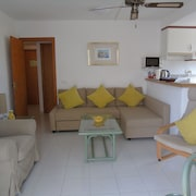Comfortable Spacious apt in Tranquil Location With sea View and AC