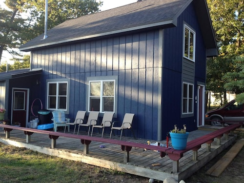 Freesoil Blue House a Convenient Beaver Island Location