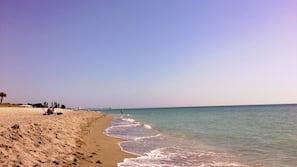 On the beach, snorkeling, fishing