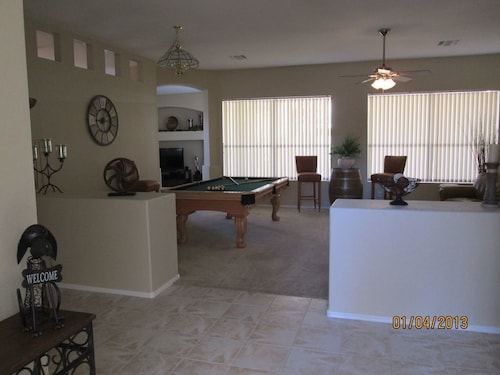 Check Expedia for Availability of Spacious 4 BDR Pool, Golf & Close to Everything
