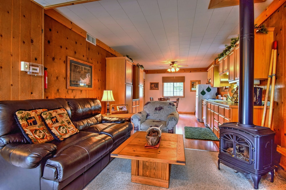 Living Room, Cozy Cottage on Grand Portage Lake, Right on ATV and Snowmobile Trail!
