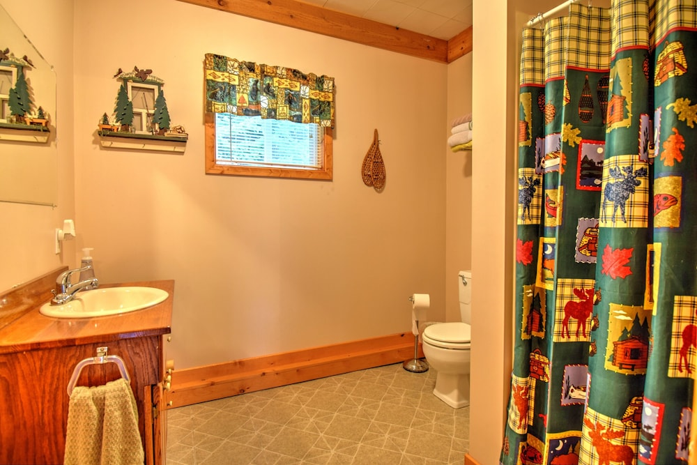 Bathroom, Cozy Cottage on Grand Portage Lake, Right on ATV and Snowmobile Trail!