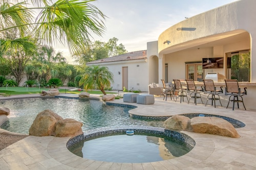 Sprawling 5br Pv W/ Resort Oasis 5 Bedroom Home