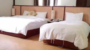 Down comforters, blackout drapes, free WiFi, wheelchair access