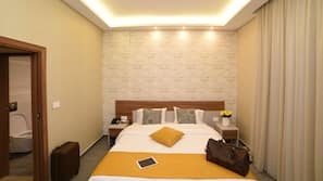 In-room safe, blackout drapes, soundproofing, rollaway beds