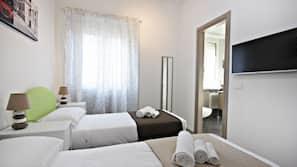 3 Schlafzimmer, Zimmersafe, individuell dekoriert
