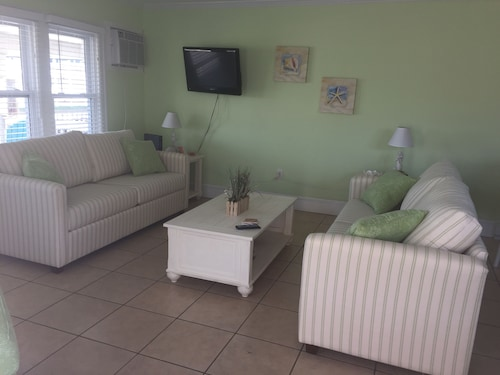 Great Place to stay Charming Ocean City Maryland Condo With 2nd Floor Porch and View of the Bay! near Ocean City