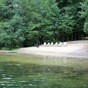 Squam Lake House With Sandy Beach On 4 Acres With Hot Tub And Dock