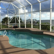 Serene Direct Riverfront Private Entertaining Pool Home