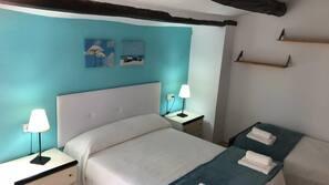 3 dormitorios, tabla de planchar con plancha, conexión a Internet