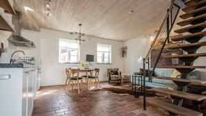 Individuell inredning, unika möbler, gratis barnsängar och gratis wi-fi