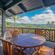 NEW Listing! Two-story House w/ Wraparound Lanai, Wifi, Amazing Views