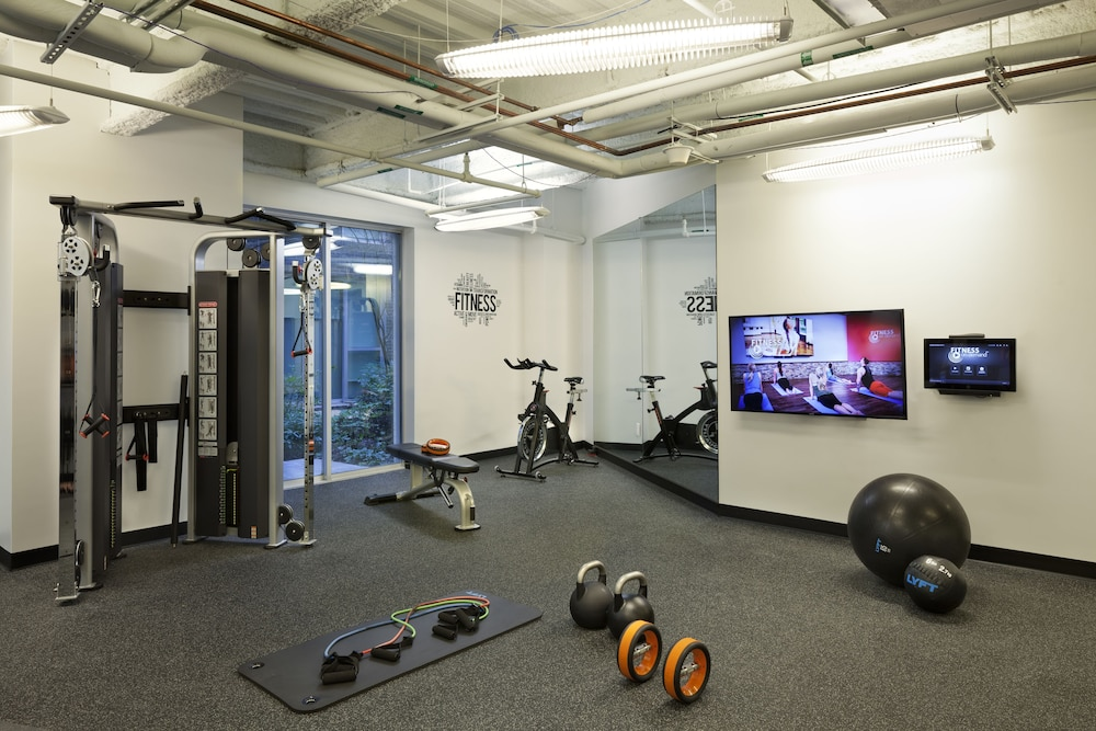 Fitness Facility, Ampeer Luxury Residences