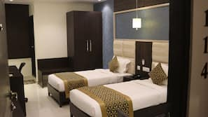 In-room safe, individually furnished, desk, blackout curtains
