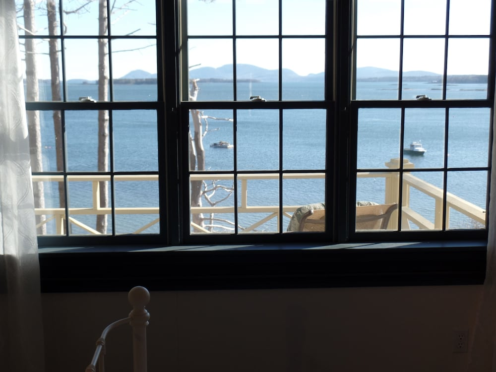 View from Room, Acadia Bay Inn