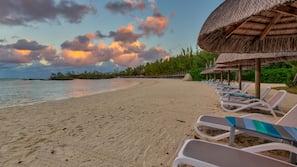 Private beach nearby