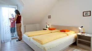 1 Schlafzimmer, Allergikerbettwaren, kostenloses WLAN, Bettwäsche