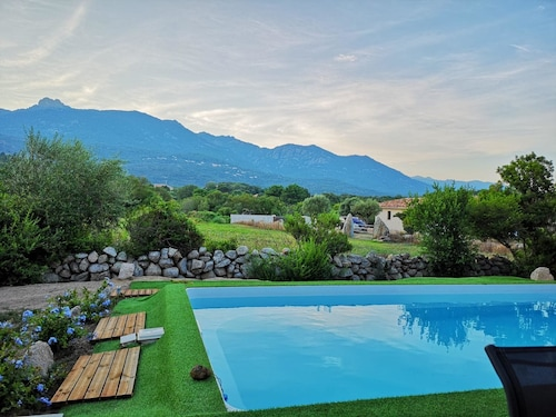 Villa With 3 Bedrooms in Sotta, With Private Pool and Wifi - 10 km From the Beach