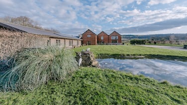 The Victorian Barn self catering holidays with pool & hot tubs