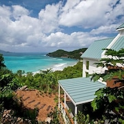 Secluded Beachfront Villa, Brewers Bay,tortola, BVI