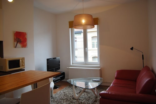 Ghent Furnished Apartment With Garage