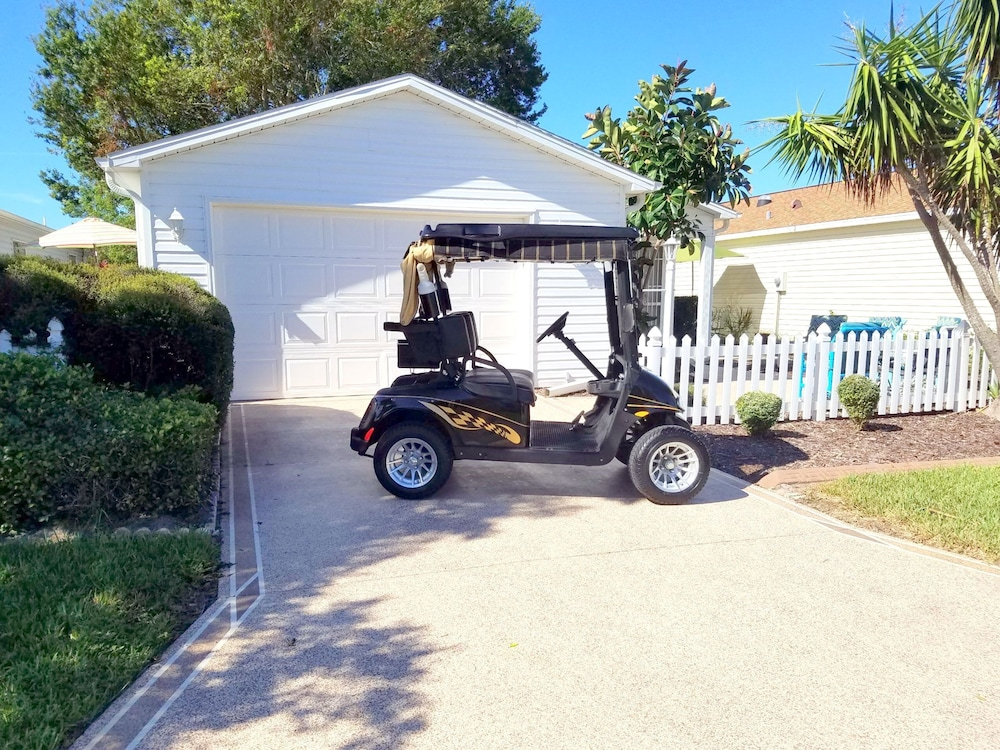 Comfortable Villa Centrally Located Golf Car Wifi In Leesburg
