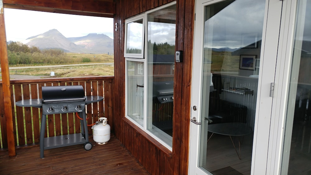 Terrace/Patio, Aurora Cabins