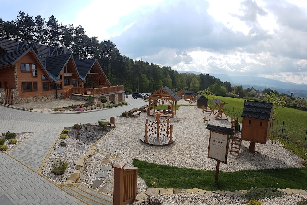 Children's Play Area - Outdoor, Apartmány Malý Princ