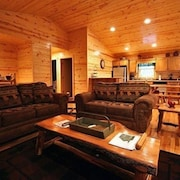 Hillside Cabin 595 GA Highway 5 Bedrooms 5 Bathrooms Cabin