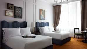 1 개의 침실, 고급 침구, 필로우탑 침대, 미니바
