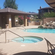 Golf, 2 Bdr./2 Bath, Den, Golf Views of 9th and 18th, Heated Pool, Spa and More