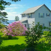 Oceanfront Home Overlooking Penobscot Bay , Castine Maine. History Abounds !