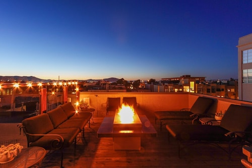 Check Expedia for Availability of Renovated North Beach Apartment With Spectacular Roof Deck SF Rental Str-0000727