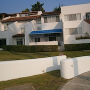 Villa for Rent Overlooking the Marina Ixtapa, Inside the Residential Complex of