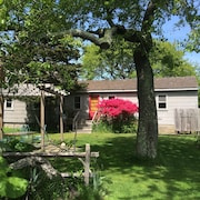 Secluded 1 Br Cottage on the Lake, Close to Ditch With OS Shower & Fabulous Yard