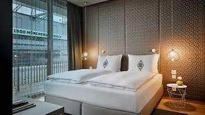 Allergikerbettwaren, Daunenbettdecken, schallisolierte Zimmer