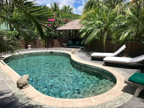 1 Bedroom Cottage Located a Step Away From Saline Beach in St-barth