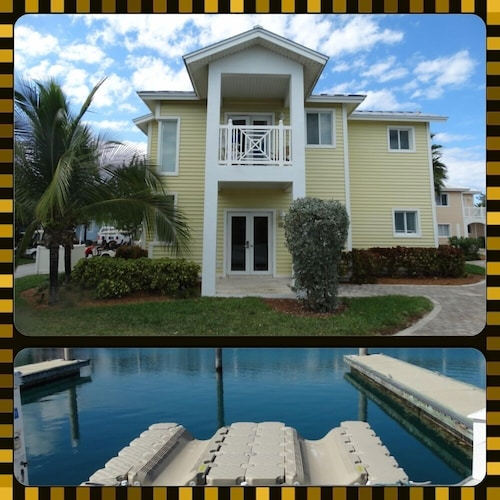 2 bed / 2 Bath Villa in Alice Town, North Bimini & Optional 50 ft Marina Slip