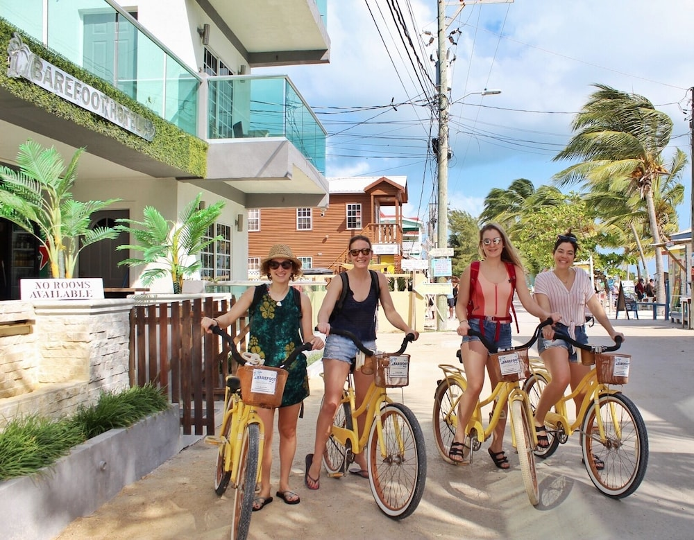 Bicycling, Barefoot Caye Caulker Hotel