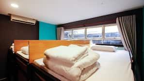 6 chambres, rideaux occultants, Wi-Fi gratuit, draps fournis