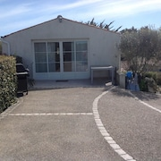 House With 2 Bedrooms in St Georges d Oléron , With Wonderful sea View, Private Pool, Furnished Garden - 50 m From the Beach